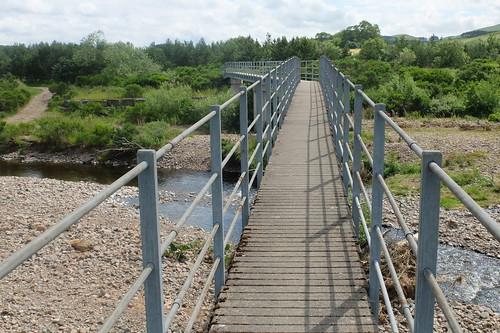 Footbridge at Branton