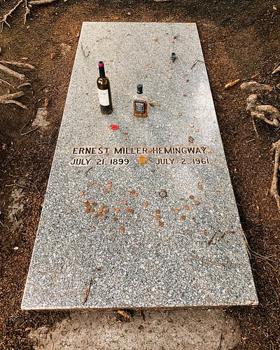 Ernest Hemingway's gravesite / Ketchum, Idaho