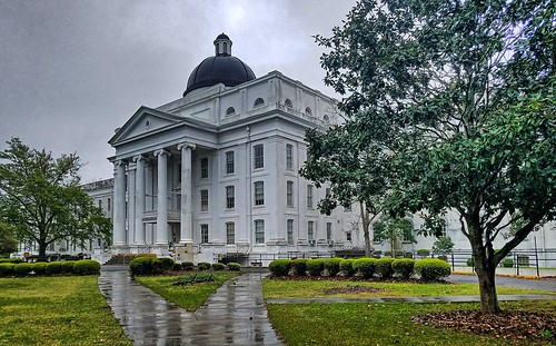 Central Building- State Lunatic Asylum- Milledgeville GA