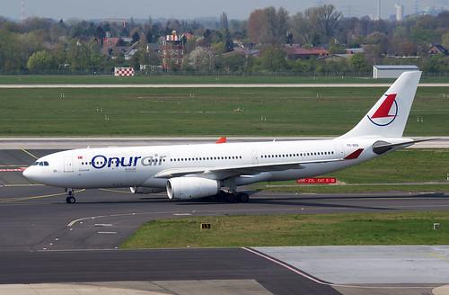 A330 TC-OCG Onur Air bs white 1-4f