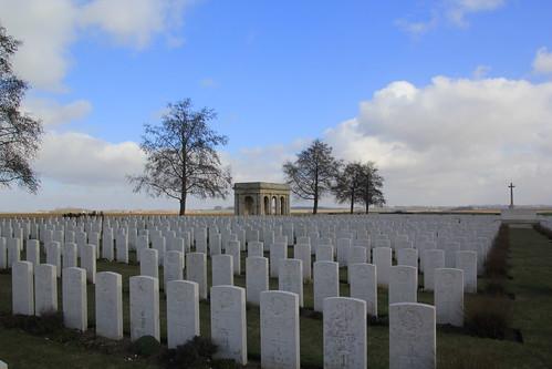 Adanac Military Cemetery WW1, Walking the Somme, France