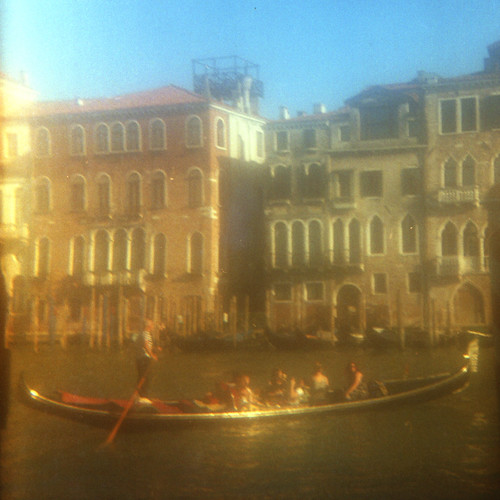 Gondola on the Grand Canal (square crop)
