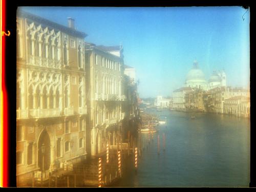 view from the Academia Bridge