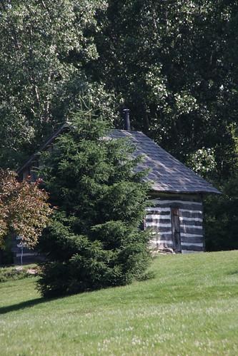 Cabin of logs