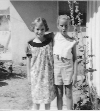 1961 summer with Paula Jackson, of our