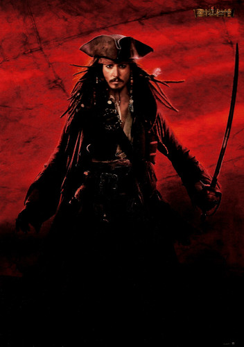 Johnny Depp in Pirates of the Caribbean - Dead Man's Chest (2006)