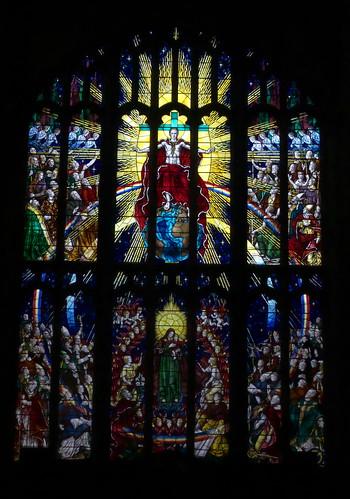 West Window (Te Deum) Holy Trinity Church, Coventry