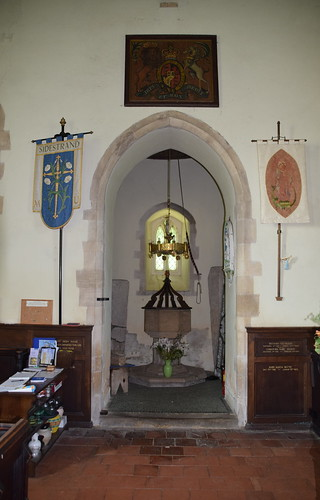 tower arch and font
