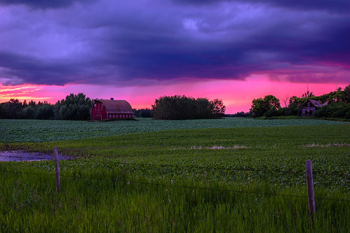Red barn and