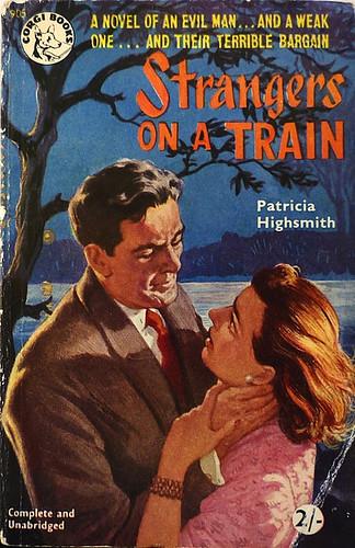 Patricia Highsmith - Strangers on a Train (1952, Corgi Books #905)