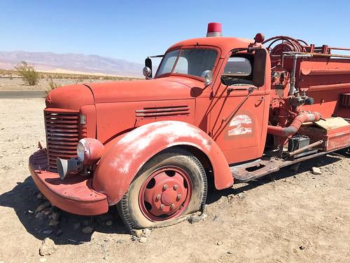 International Harvester fire engine