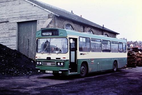 CLEVELAND TRANSIT 363 HEF 363N WHITBY AUG 1977