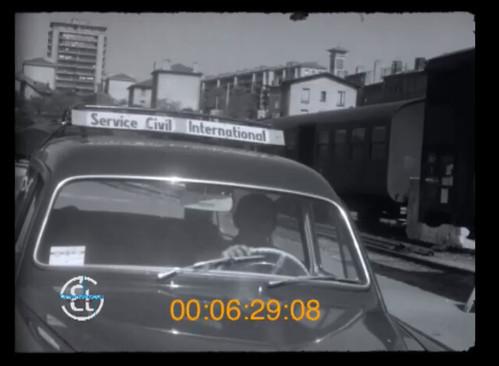 l'intervention humanitaire du comité de vigilance et d'action pour la protection de l'enfance malheureuse, au bidonville du champ de mars(Méons)à Saint-Étienne à la fin 1950
