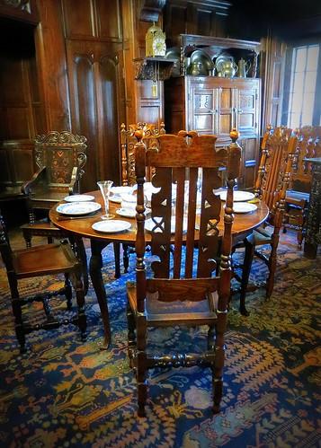 Shibden Hall dining room