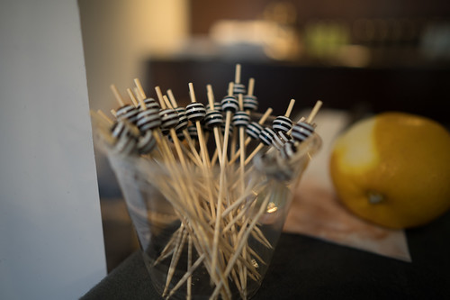 Cocktail Toothpicks at the San Antonio Cocktail Conference