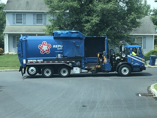 Republic Services truck 2440