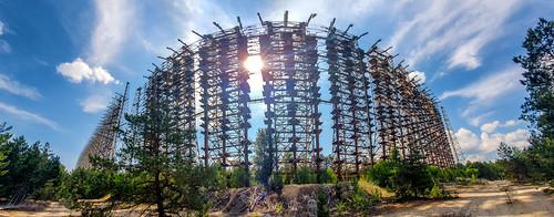 Duga 1 - Russian early warning radar installation