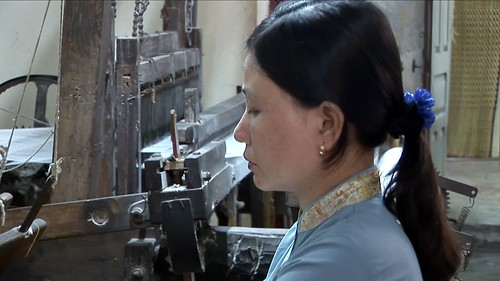 Vietnam - Hoi An - Silk Weaving - Handloom - 5