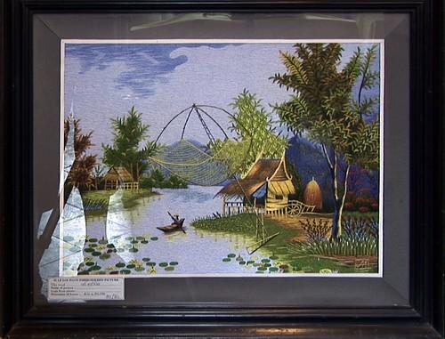 Vietnam - Hoi An - Hand Embroidery - 13