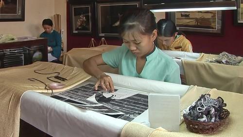 Vietnam - Hoi An - Hand Embroidery - 1
