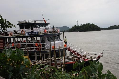 River Brahmaputra Guwahati Assam
