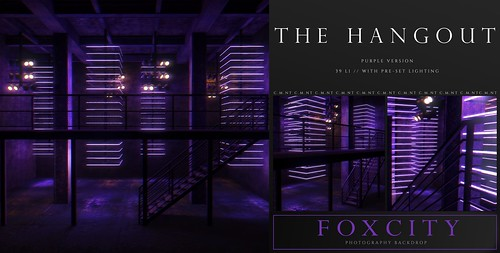 FOXCITY. Photo Booth - The Hangout (Purple)