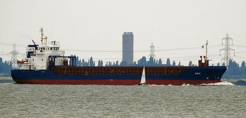 'Keit' General Cargo Ship On The Thames