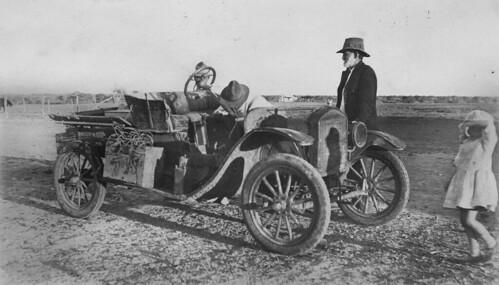Boulia to Birdsville mail run, 1926