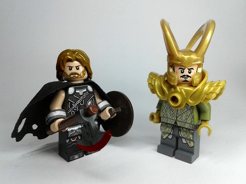 Pip-Verse Thor and Loki: Part 2 Exiled Prince and Corrupt King