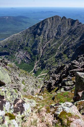 Pamola Peak from Baxter Peak