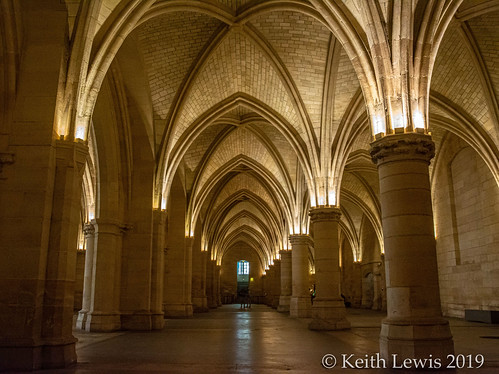 The Great Hall of the Conciergerie  Paris