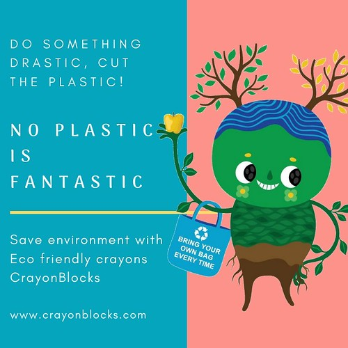 Save mother earth with eco friendly crayons