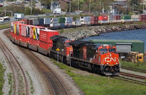 CN 100 Down G10  - Fairview, NS
