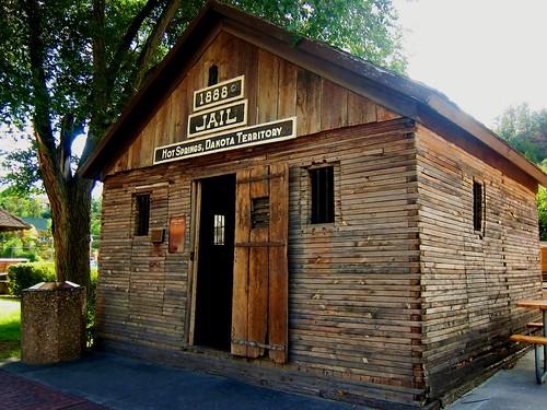 1888 Jail ~ Hot Springs, Dakota Territory