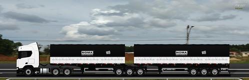 Scania R540 Next Gen bitrenzão VI