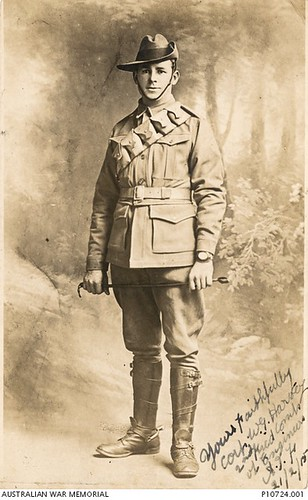 106 Corporal William George Harvey, 1st Australian Pioneer Battalion. Killed in Action: 14 September 19174.