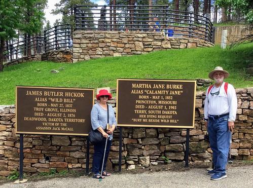 Mount Moriah Cemetery, Deadwood, SD (Wild Bill Hickok & Calamity Jane graves)
