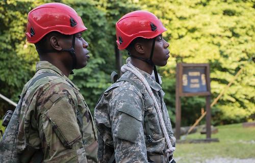 High Ropes Confidence Course   3rd Regiment, Basic Camp