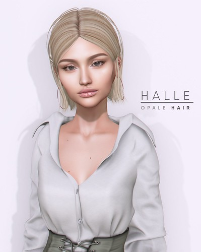 Opale Hair . Halle @ Equal10 jULY 2019