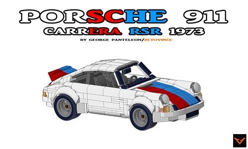 Porsche 911 Carrera RSR 1973 Brumos Racing