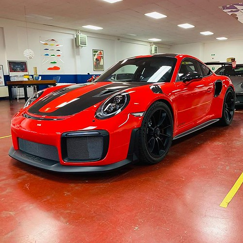 Porsche GT2 RS added to Halmo collection...looks stunning in Red!!!#gt2rs #porsche #porschegt2rs #porschegt3 #porschegt #weissachpackage