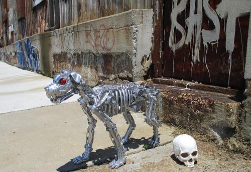 Terminator Dog, the K-900 Endoskeleton