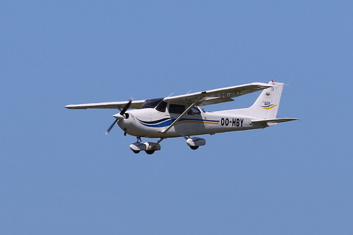 OO-HBY Cessna 172S Skyhawk SP on 1 July 2019 Jersey