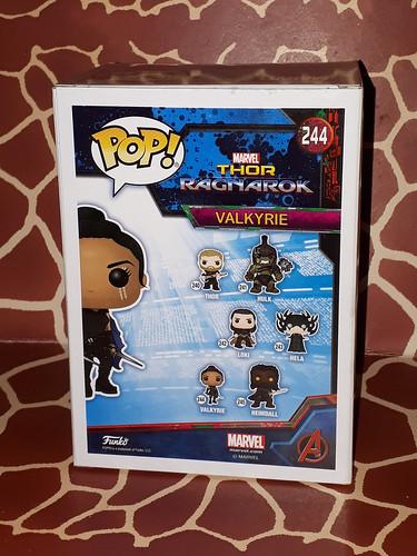 Valkyrie no. 244 Pop Thor-Ragnarok Series Funkopop