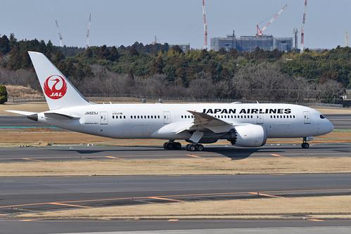 Boeing 787-8 'JA823J' Japan Air Lines