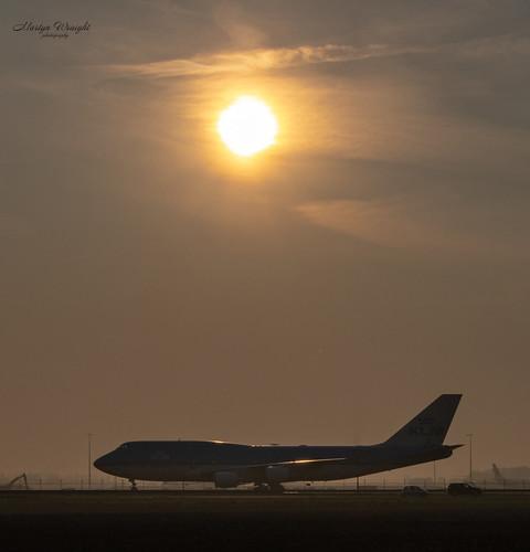 Sunrise KLM Boeing 747-400