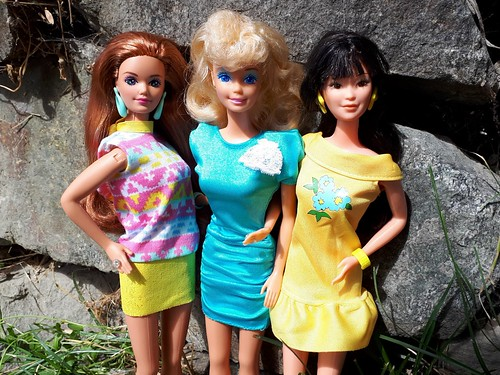 Barbie Fashion Finds #1011, #1012, & #1028 from 1988
