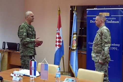 Prvi dočasnik Nacionalne garde Minnesote u posjetu Hrvatskoj