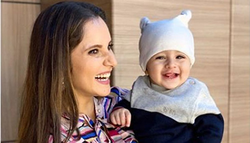 Sania Mirza shares adorable photo of son Izhaan