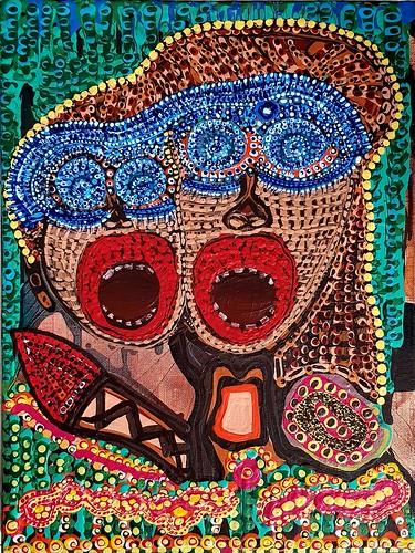 Mirit Ben-Nun artista israelita cuadros en acrilico